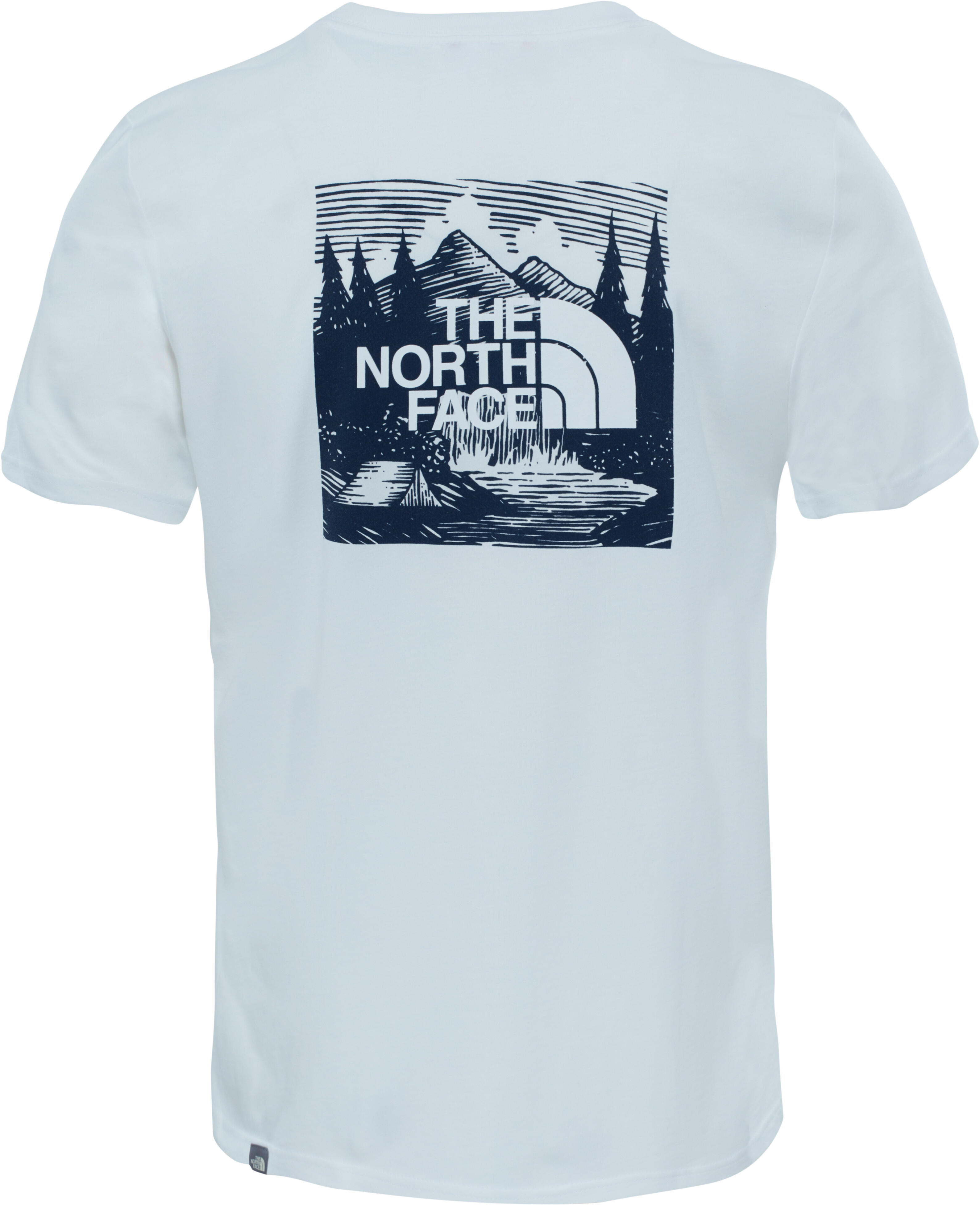 7014d661b The North Face Redbox Cel - T-shirt manches courtes Homme - blanc